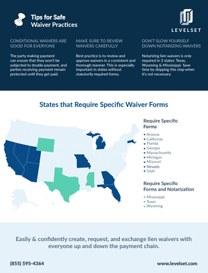 short guide to lien waivers